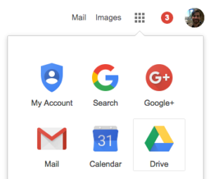 google-drive-from-dropdown-menu