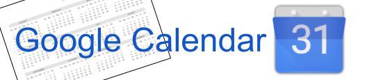 Google Calendar Banner