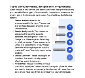 google-classroom-posting-options-2