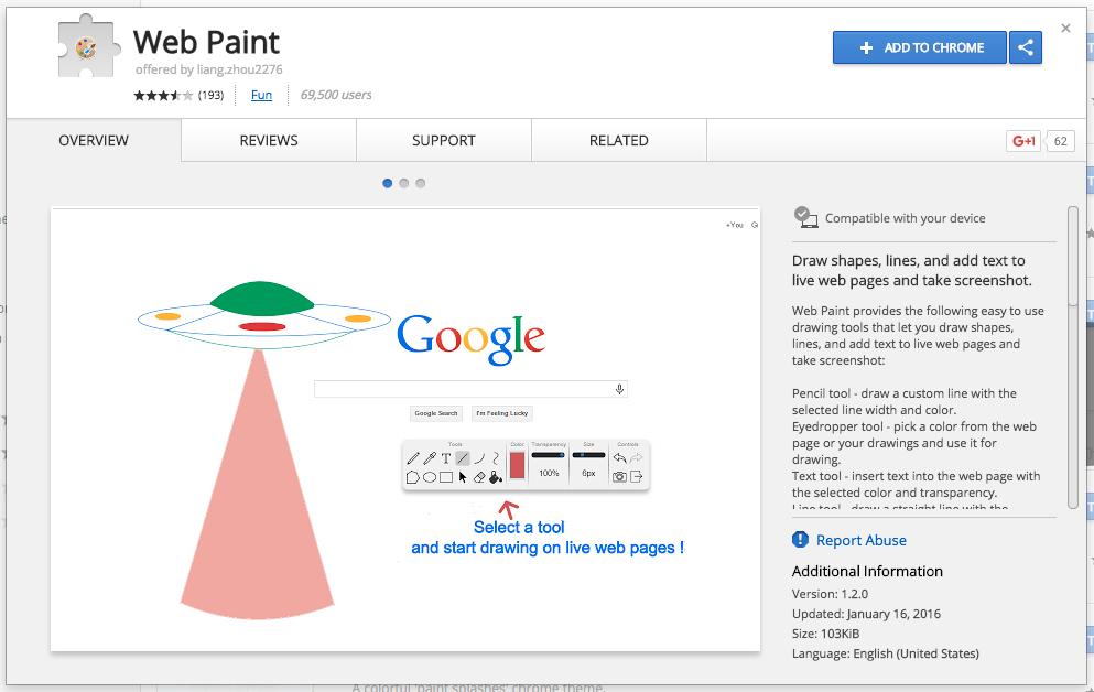 web-paint