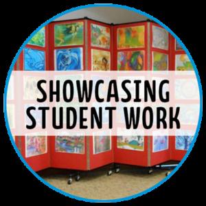 showcasing student work