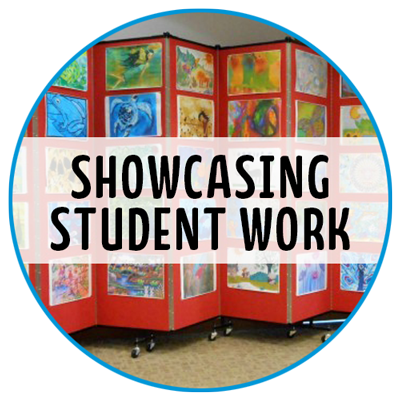 showcasing student work