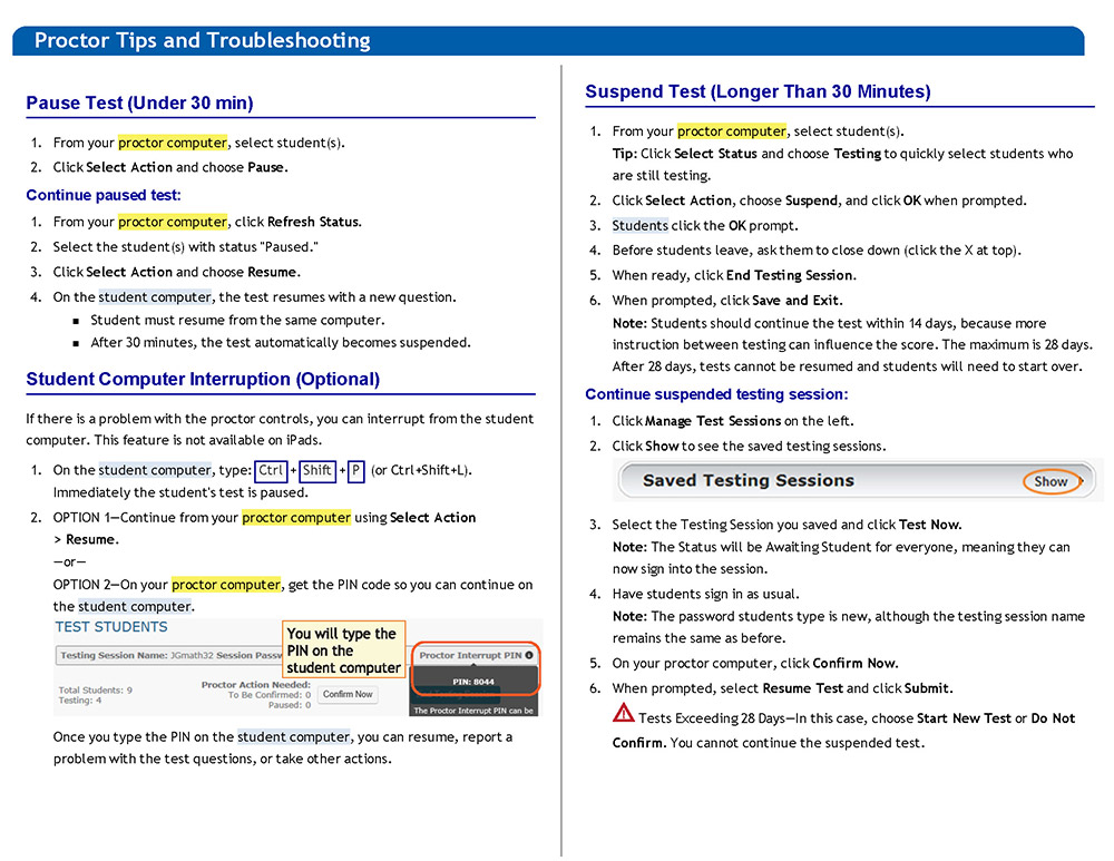 Proctor_Tips_and_Troubleshooting_QuickRef_Page_3
