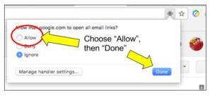 gmail handlers instructions