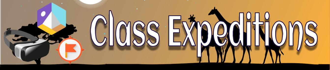 Class expeditions banner