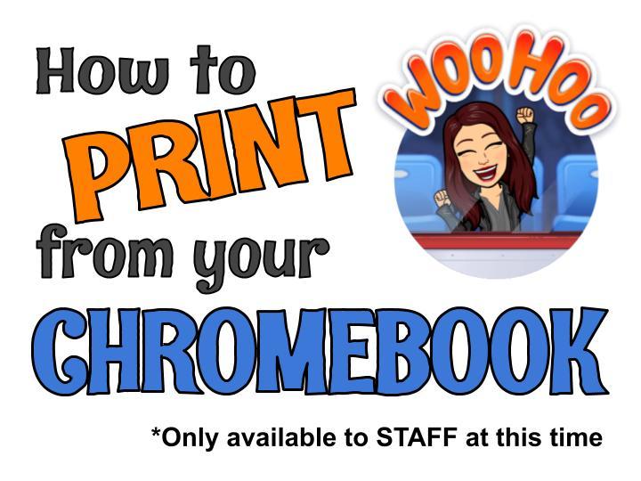 Chromebook printing image