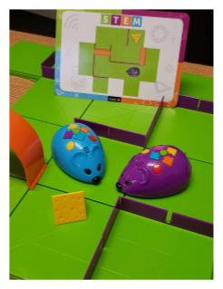 Code and Go Mice maze game