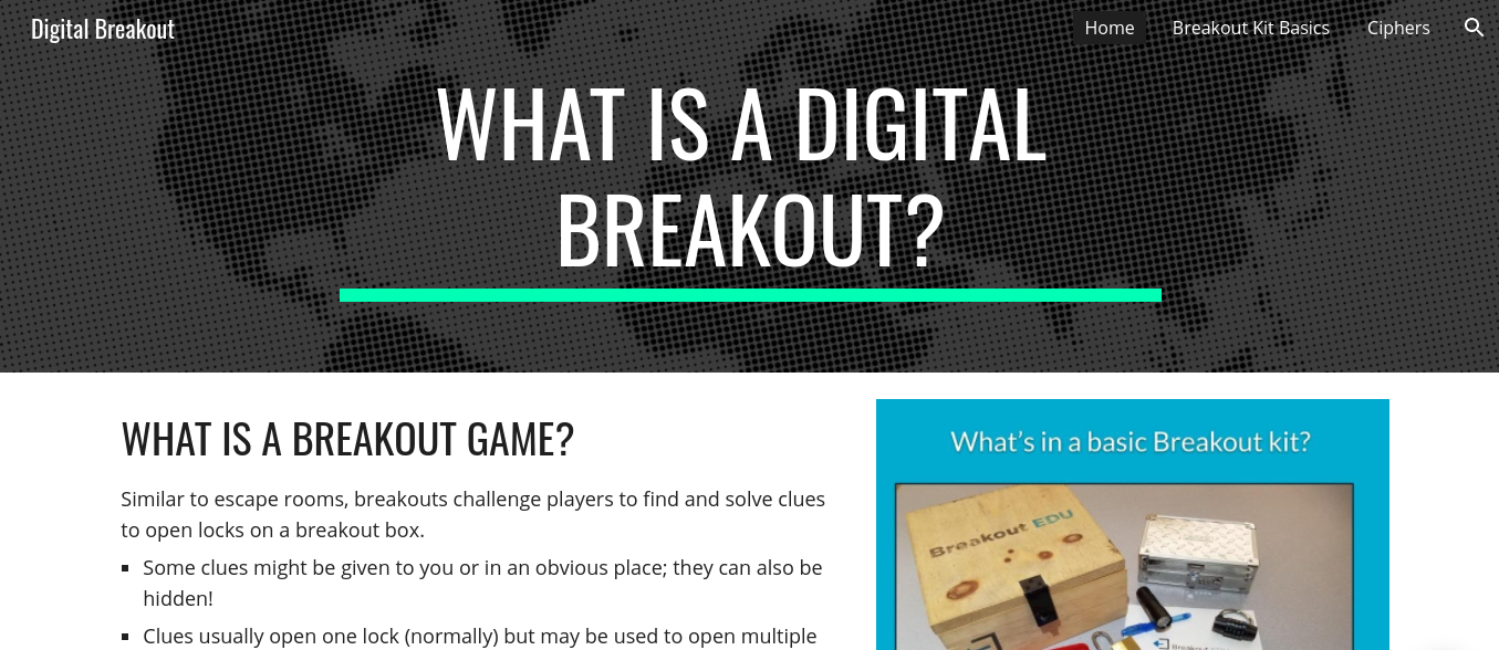 Digital Breakout How-To banner