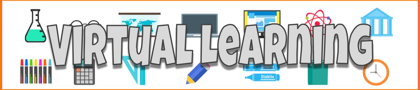 Virtual learning banner