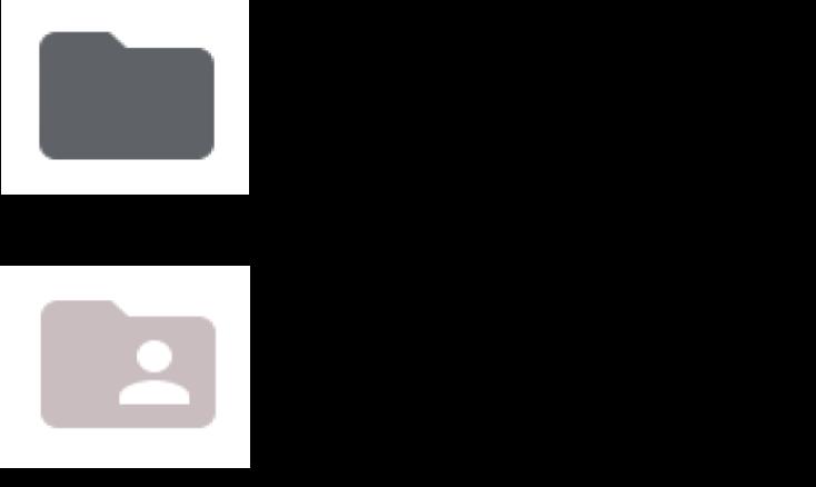 Google Drive Folder icons